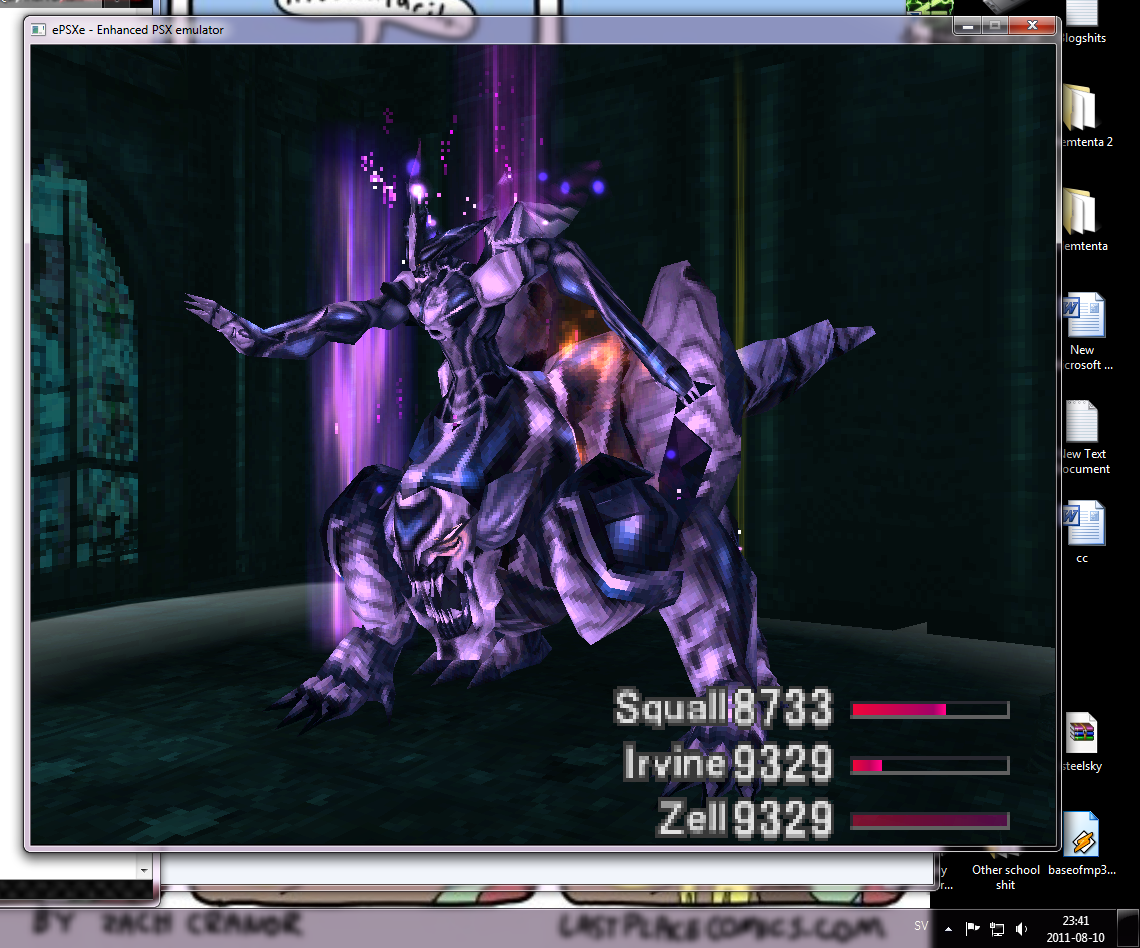 final fantasy viii omega weapon guide